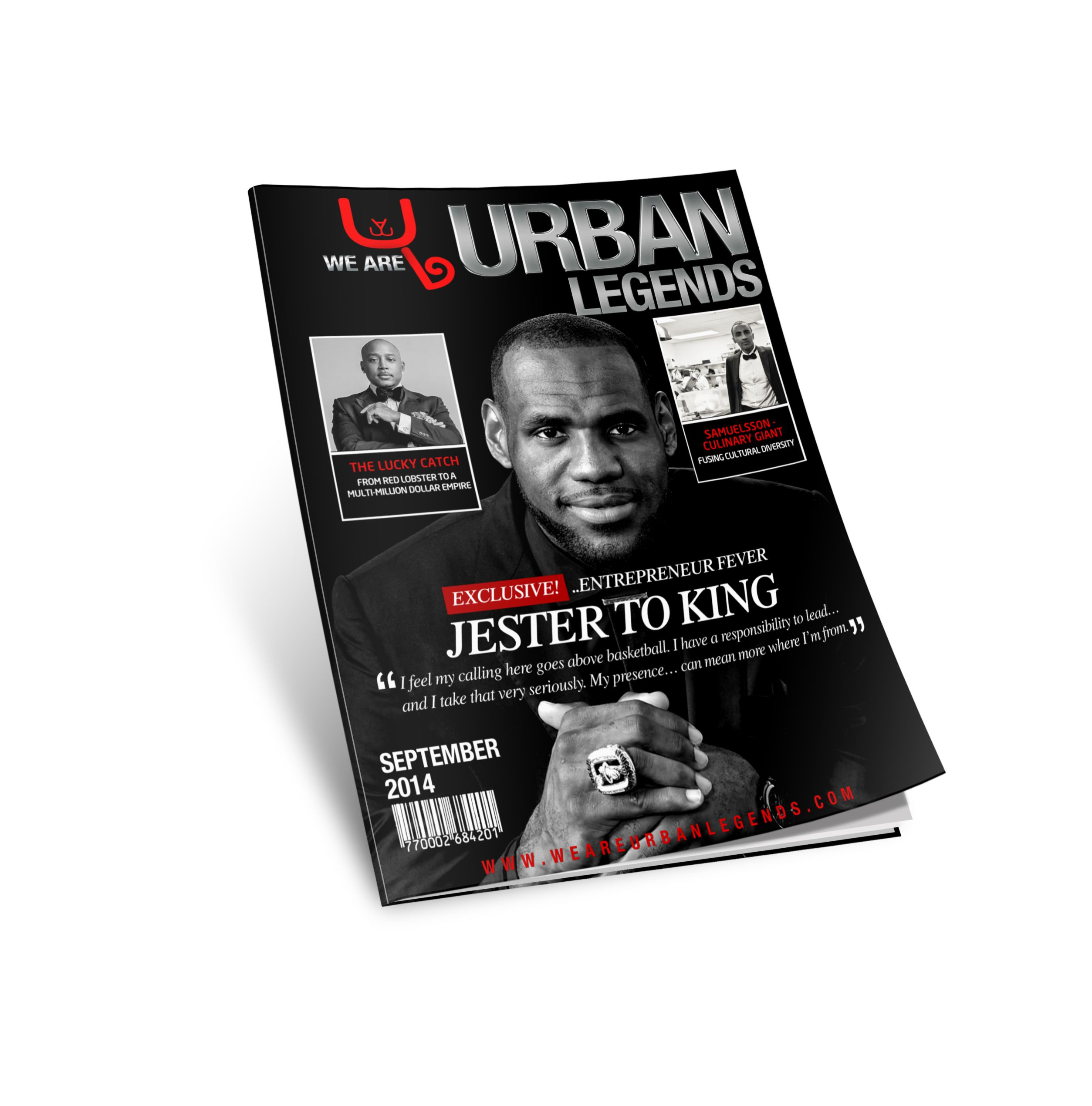 The wait is almost over! Here's your preview of W.A.U.L September 2014 issue. To receive your free issue, please subscribe NOW! #LebronJames #DaymondJohn #MarcusSamuelsson #MiamiHeat #ClevelandCavaliers #NBA #FUBU #SharkTank #HipHop #RedRooster #Harlem #Entrepreneur #Business #Blog