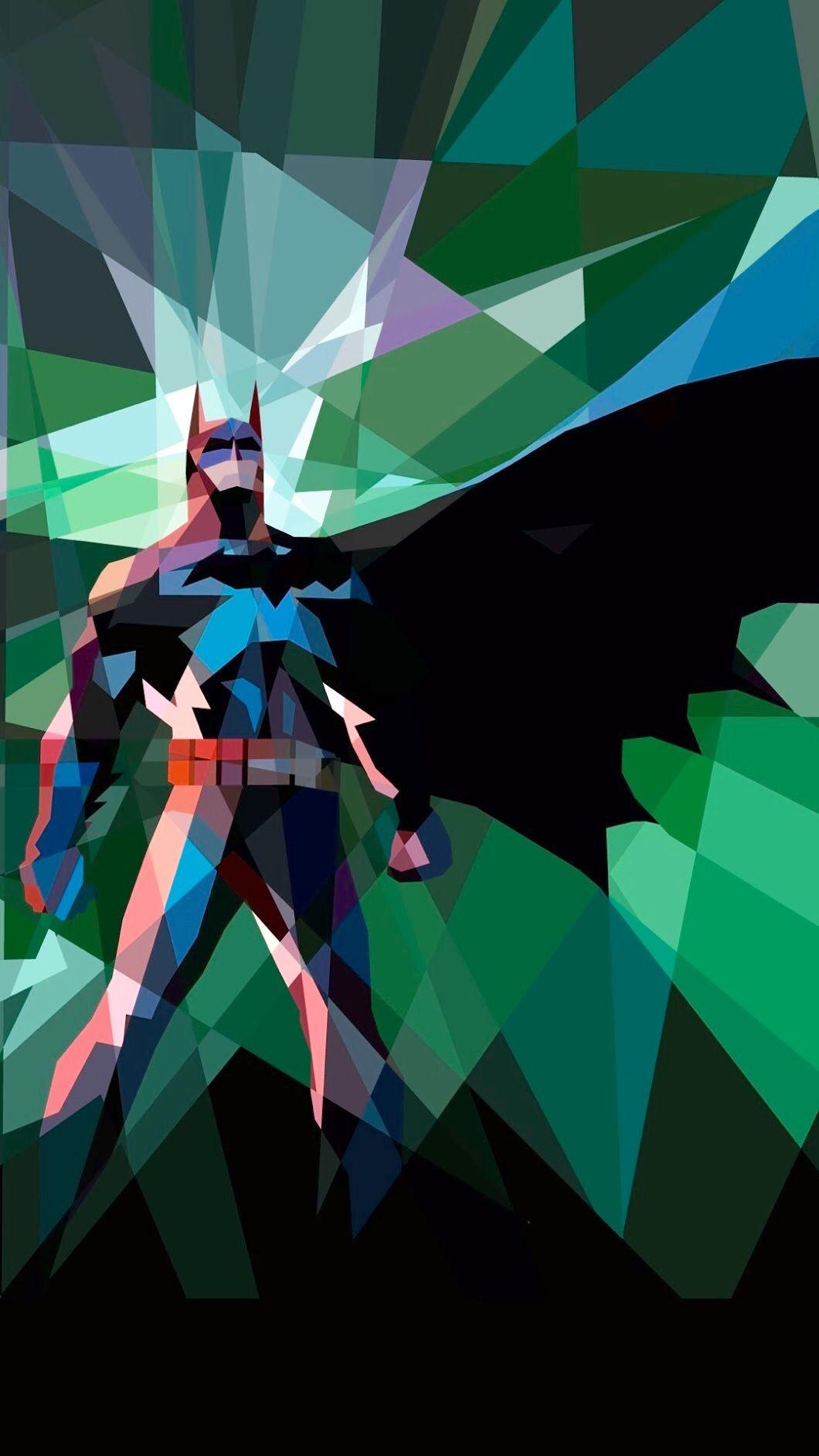 Abstract and geometric batman comics pinterest for Sfondi batman