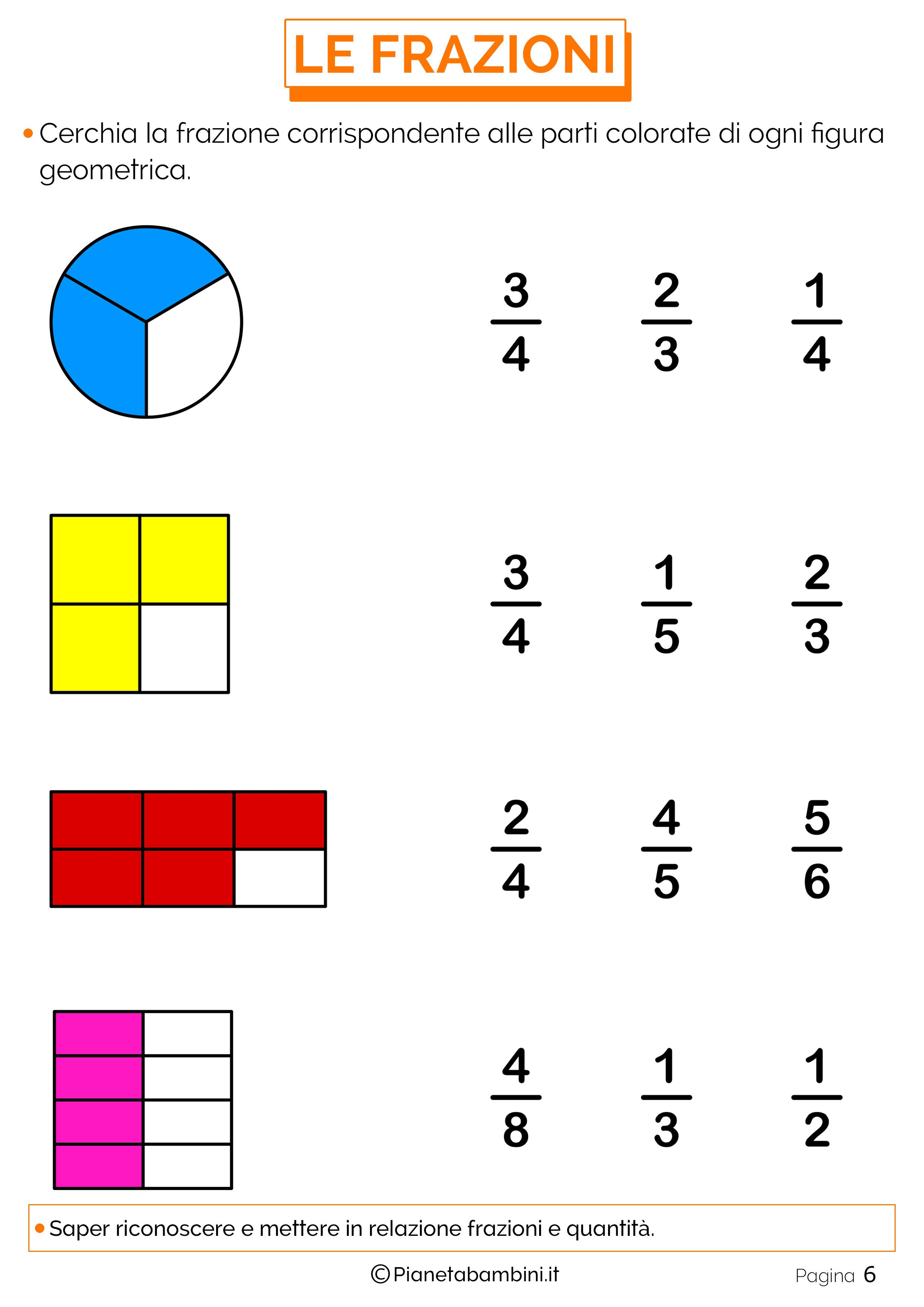 worksheet Fraction Worksheets 2nd Grade httppianetabambini itwp contentuploads201602esercizi explore free worksheets for kids and more