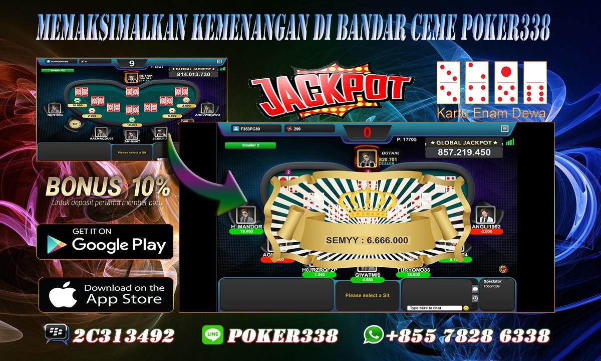 Memaksimalkan Kemenangan di Bandar Ceme Poker338