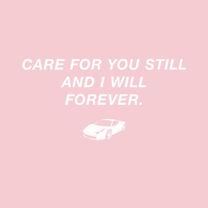 Care For You Still And I Will Forever Frank Ocean White