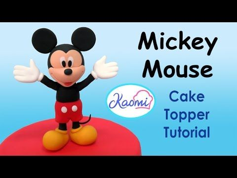 Mickey mouse clubhouse cake toppers c mo hacer la casa club de mickey para tortas youtube - Youtube casa mickey mouse ...