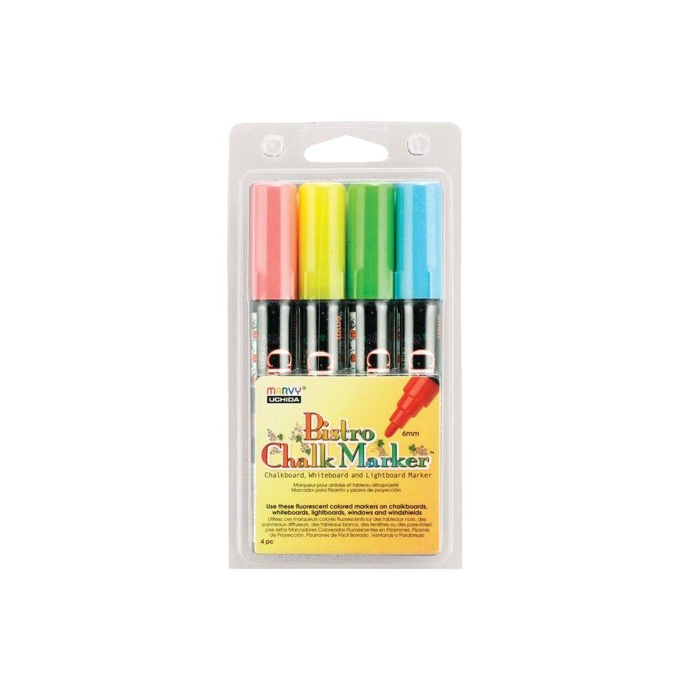Erasable 6mm Tip Blue Water-based Uchida Bistro Chalk Marker