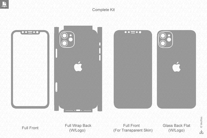 iPhone 11 2019 Skin Template Vector Vector CutFiles