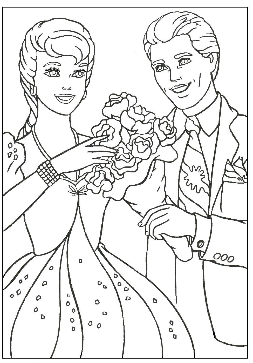 Barbie And Ken Coloring Pages Through The Thousands Of Photos On Line Regarding Barbie And Ken C Cartoon Coloring Pages Barbie Coloring Pages Barbie Coloring
