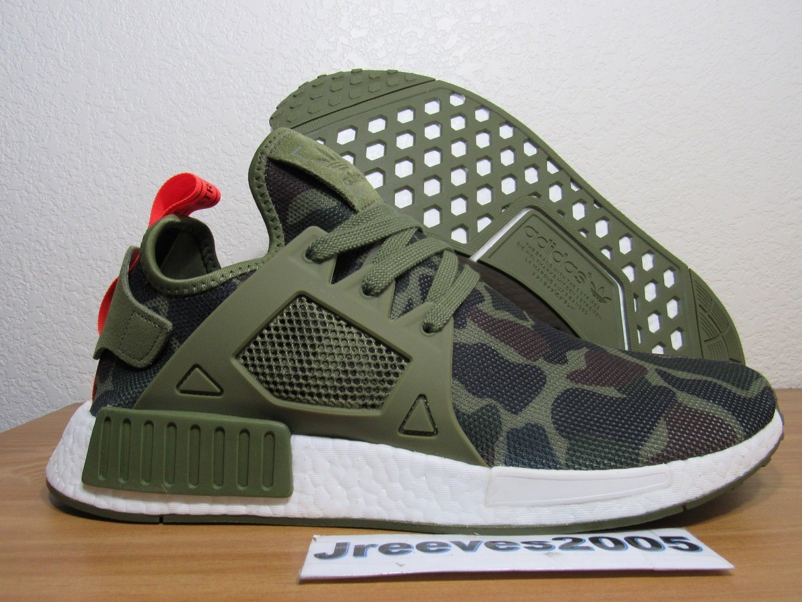 Men's Shoes SNEAKERS adidas Originals NMD Xr1 Duck Camo