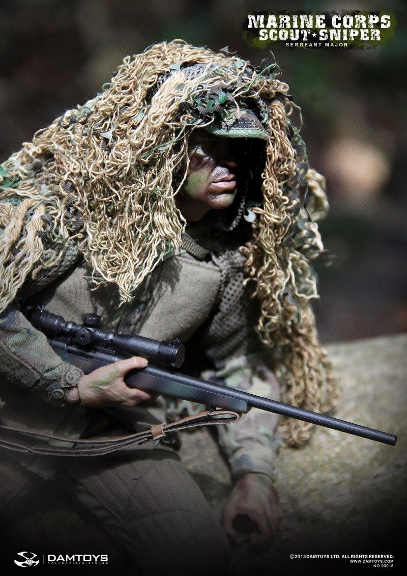 onesixthscalepictures: DAM Toys MARINE CORPS SCOUT SNIPER Sergeant ...