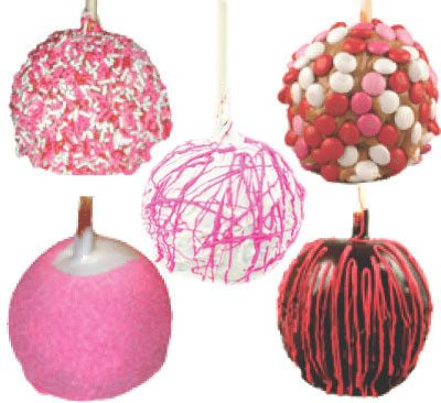 Valentine S Day Candy Apples Desserts Valentines Candy Apples