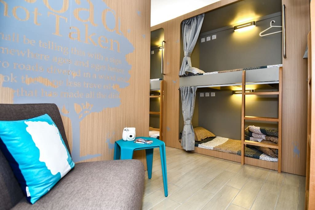 Stylish Hostel Bunk Bed Rental 2 Dorms For Rent In Hong Kong
