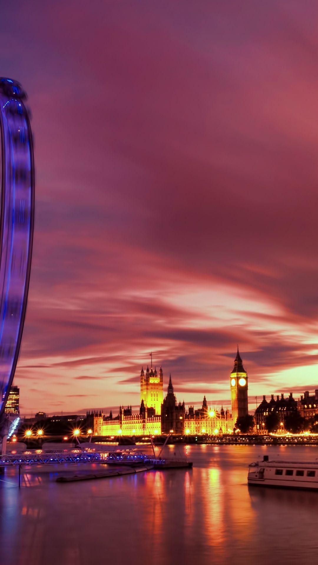 iPhone 6 Plus Wallpaper London 09 Sunset wallpaper, London