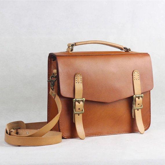 8444e9d1c de cuero bandolera, cuero bolso de mujer, regalo para ella, bolso de cuero  hecho a mano, bandolera de cuero curtido vegetal