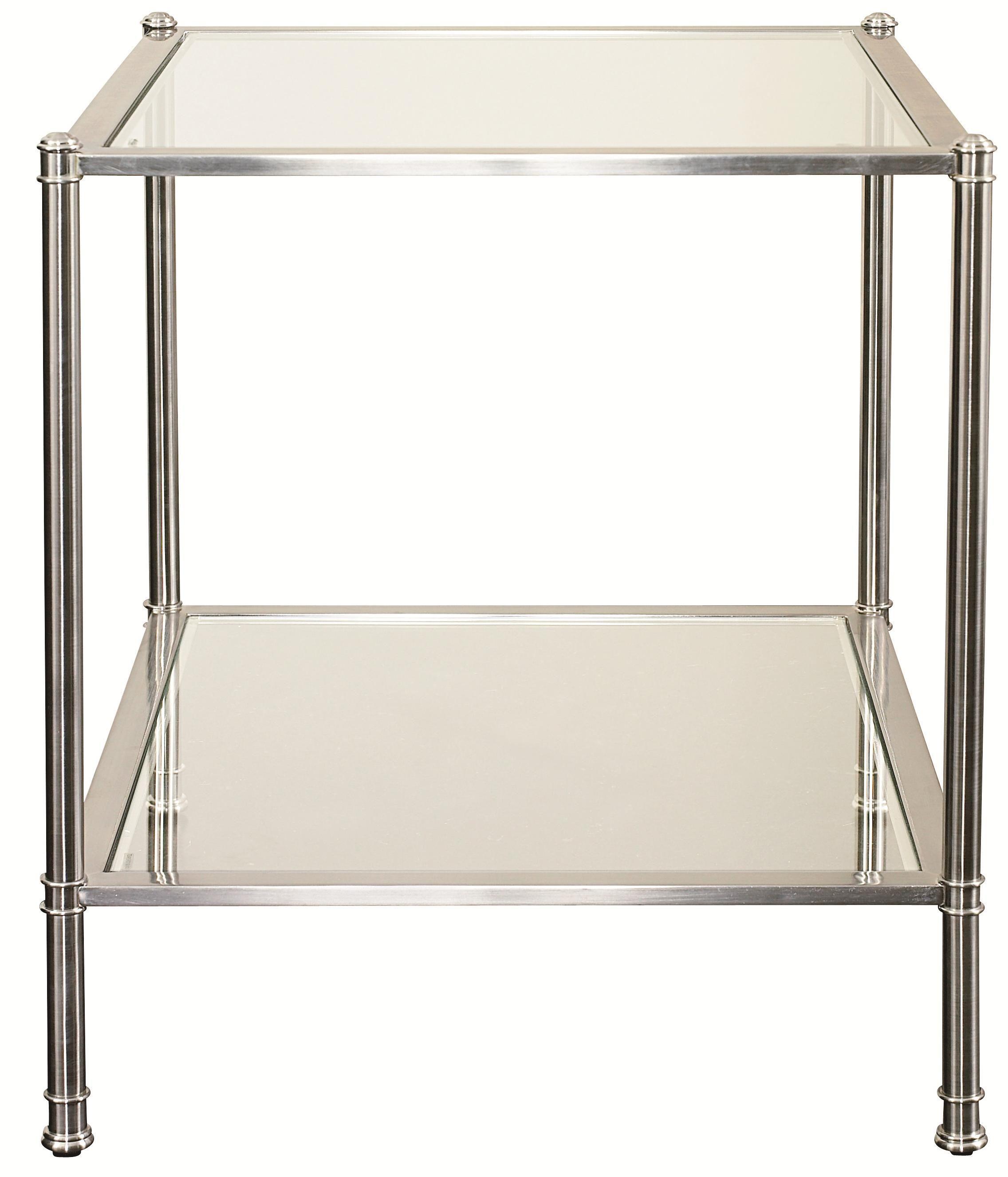 Metropolitan End Table by Bassett Hudson furniture