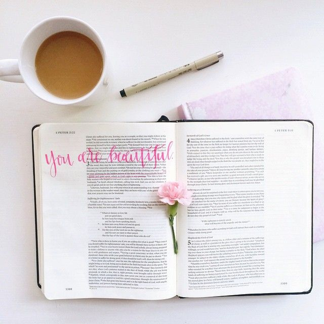 You are beautiful. Not because society says so, not because men say so, not because a scale says so, & not because a mirror says so. You are beautiful because GOD says so.