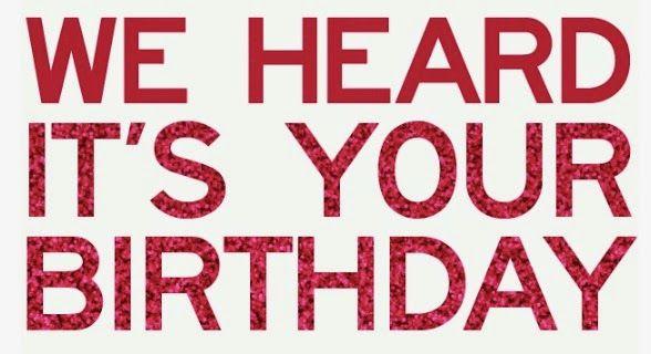 Champagneista: Birthday Freebies