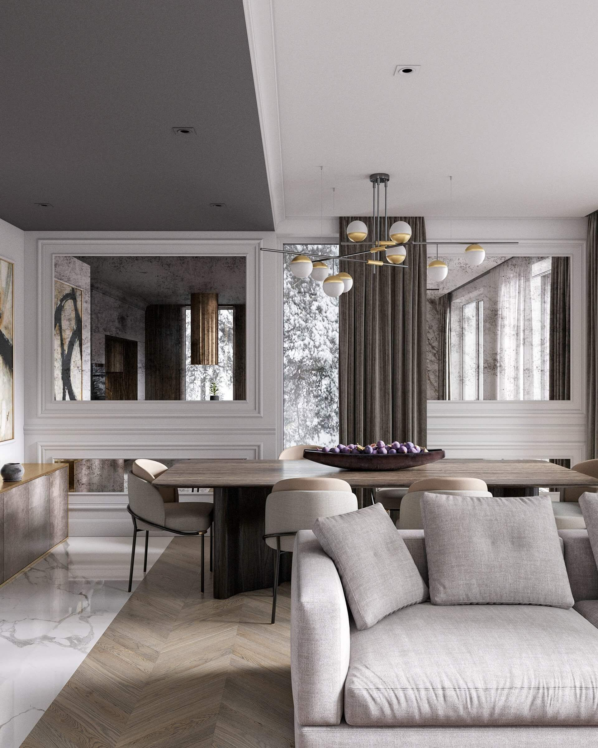 Autodesk Room Design: Stylish Interior Concept Design // Cgi Visualization In