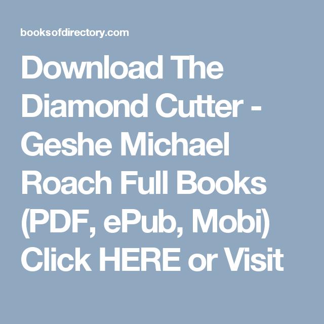 The Diamond Cutter Michael Roach Epub
