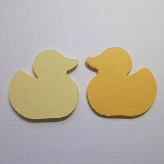 rubber ducky die cuts 2 5 h duck cut outs paper duck die cuts