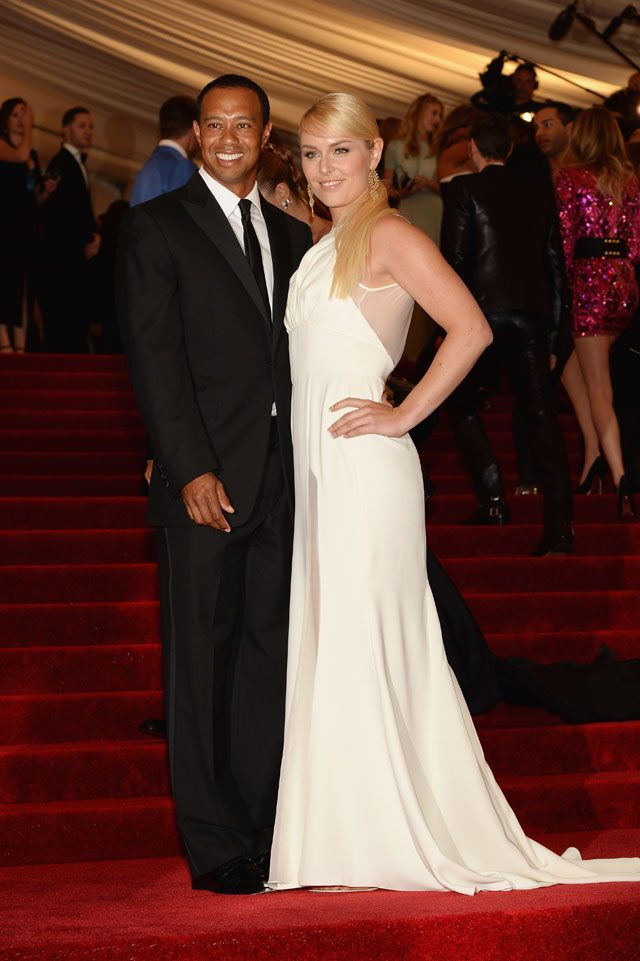 Tiger Woods and Lindsey Vonn attend the Costume Institute Gala for the u0027PUNK Chaos to Coutureu0027 exhibition at the Metropolitan Museum of Art on May 2013 in ...  sc 1 st  Pinterest & Tiger Woods and Lindsey Vonn attend the Costume Institute Gala for ...