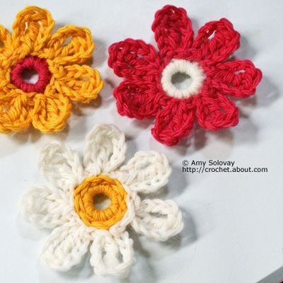 Crochet Flower Pictures Flower Pictures Crochet Flowers And Crochet