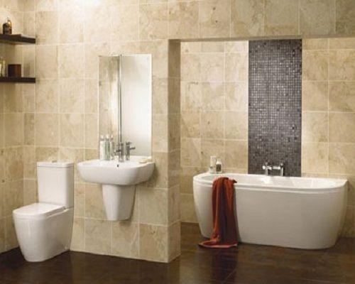 Ideas Para Reformar El Cuarto De Baño | Elegante Bano De Marmol Elegant Bathroom In Marble Bano