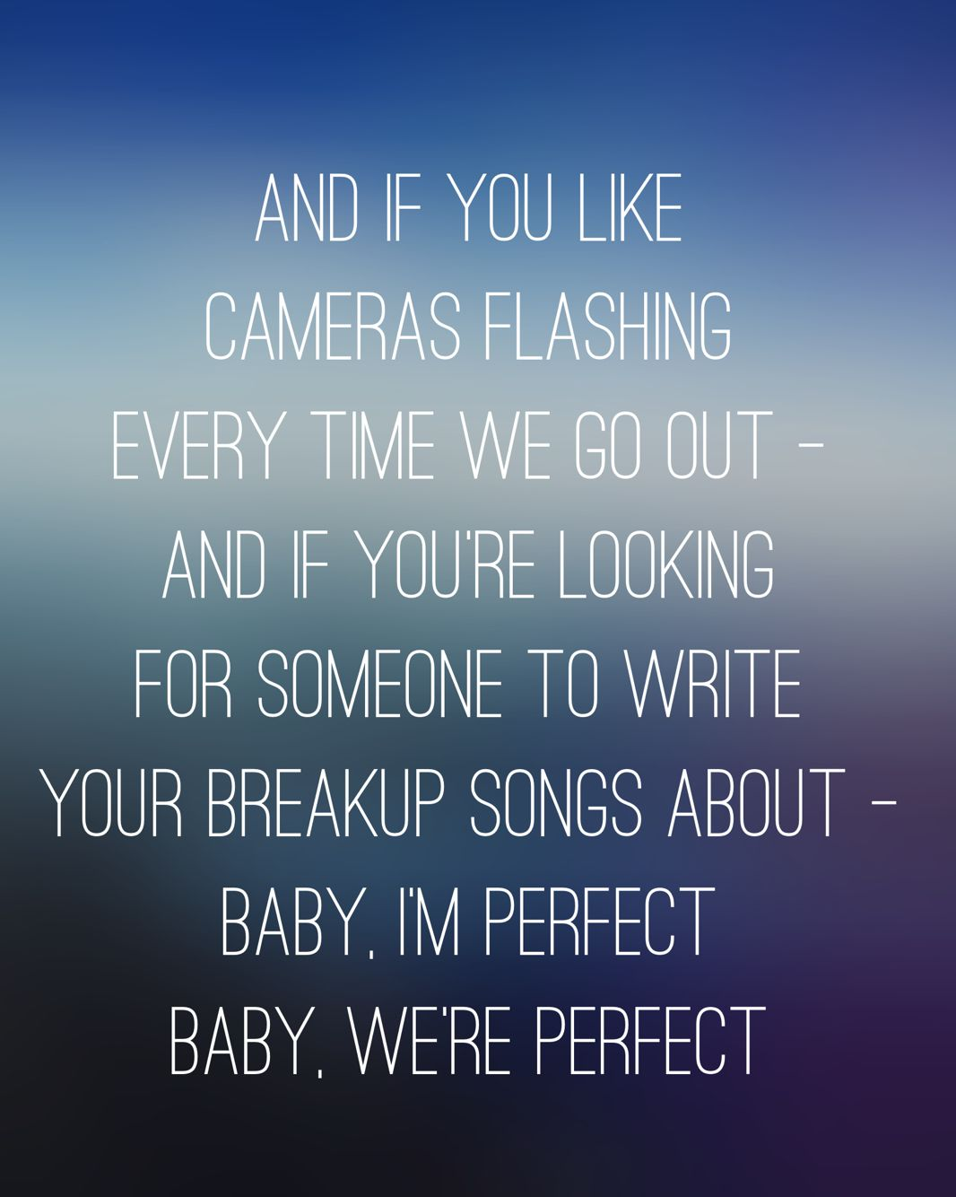 One Direction Perfect Made In The Am Lyrics Music Lyrics