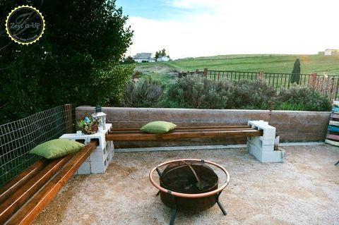 Diy Cement Block Bench Diy Backyard Landscaping Cinder Block Furniture Cinder Block Bench