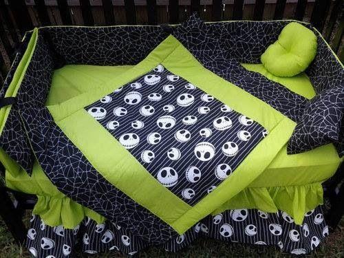 I Want It Nightmare Before Christmas Jack Skellington Crib Set Crib Bedding Baby Crib Bedding Baby Cribs
