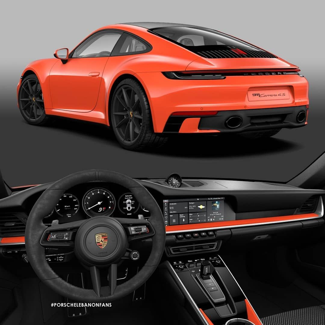 "Porsche Lebanon Fans On Instagram: ""A Lava Orange"