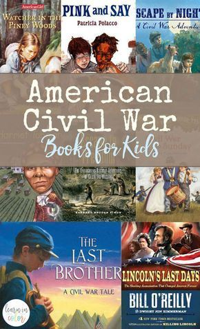Photo of American Civil War Books for Kids Ages 6-14 Elementary Middle School