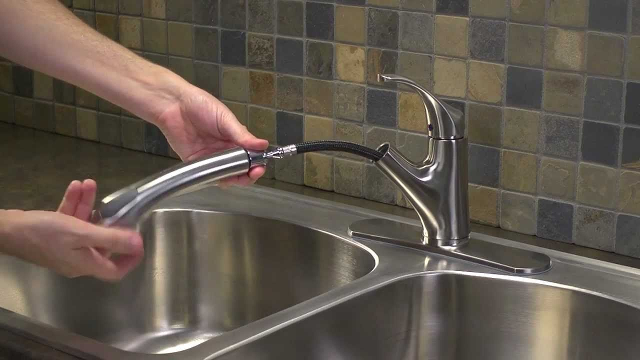 Water Ridge Pull Out Kitchen Faucet Troubleshooting Http Latulu