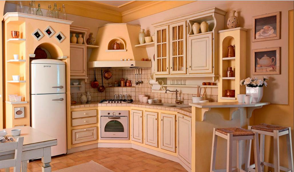 cucina rustica rosa arredamento shabby kitchen diy