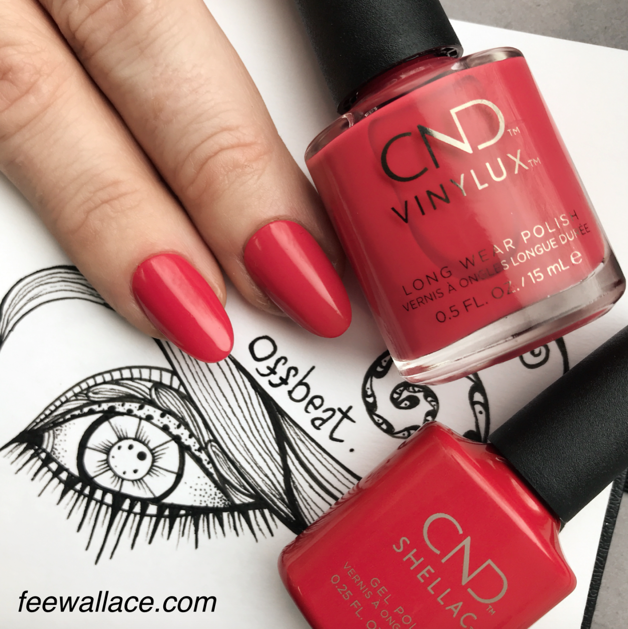 Offbeat CND Shellac and Vinylux from BOHO SPIRIT ...
