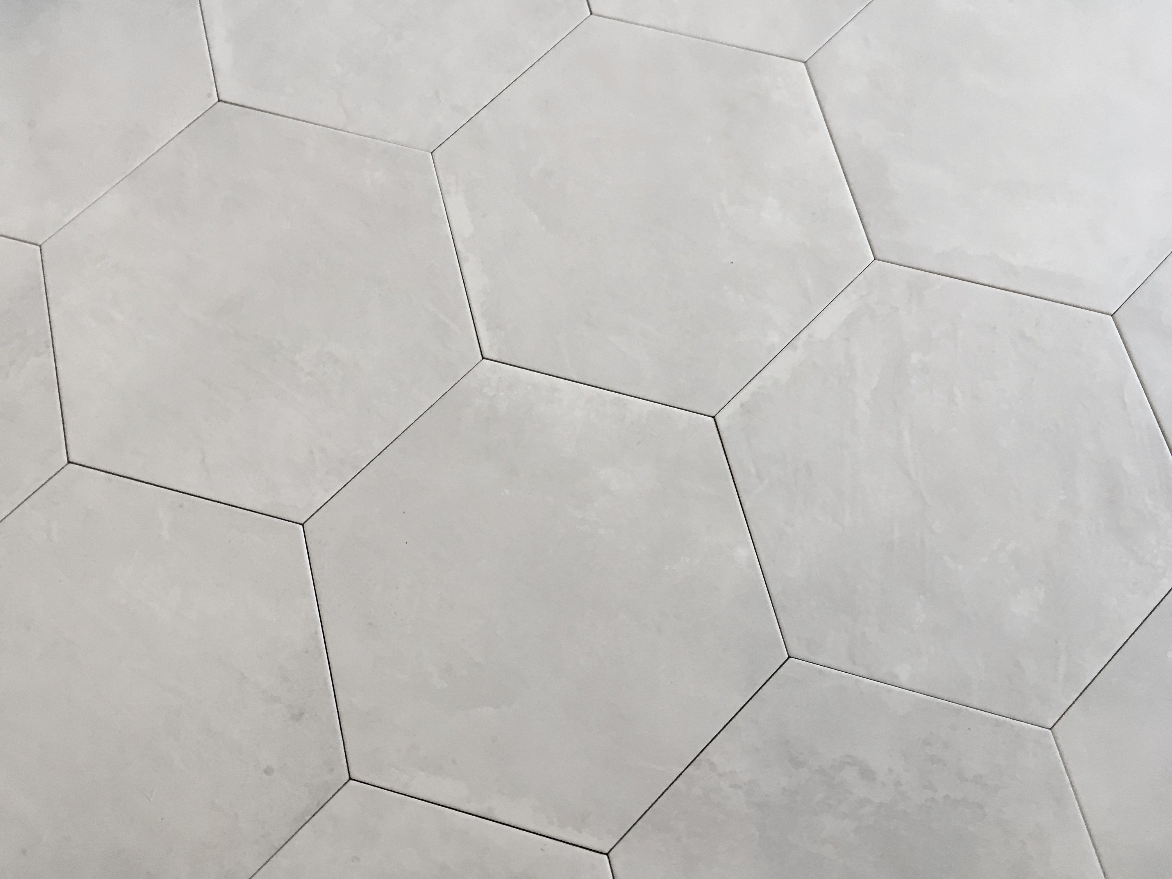 Plytki Heksagonalne Cementowe Szare Gresowe Beton Szare 25 4x29