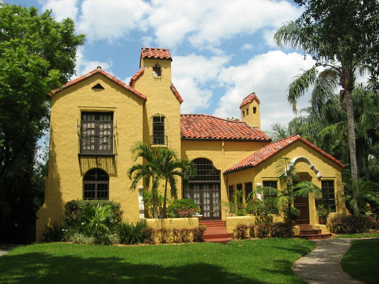 1920 s florida boom time home mediterranean revival trivial rh pinterest com