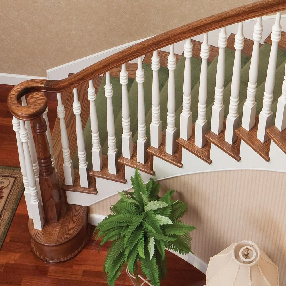 Best Stair Parts 39 In X 1 3 4 In 5105 Primed Wood Square Top 400 x 300