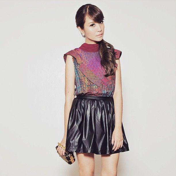 tgosingtian's wearing AlleiraBatik #fashionstyle