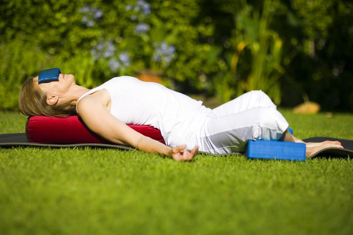 5 Yoga Poses for Perimenopause | Yoga, Restorative yoga ...