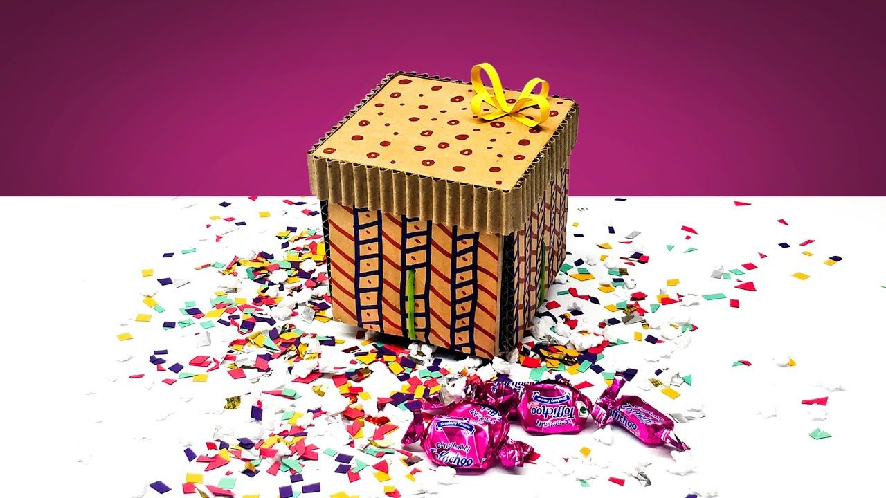 Amazing Diy Explosion Gift Box From Cardboard