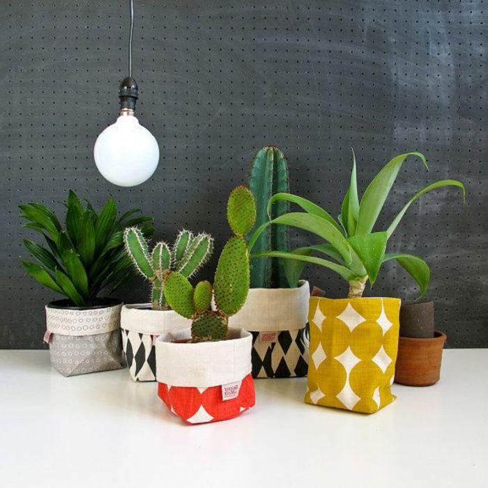 Id es malignes pour faire un cache pot pas cher cacher for Pot pour plante interieur pas cher