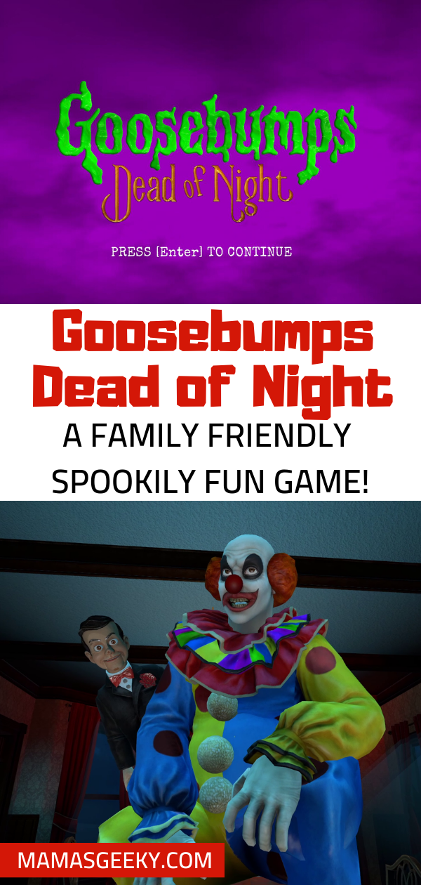 Goosebumps Dead Of Night Game Is Filled With Spooky Fun