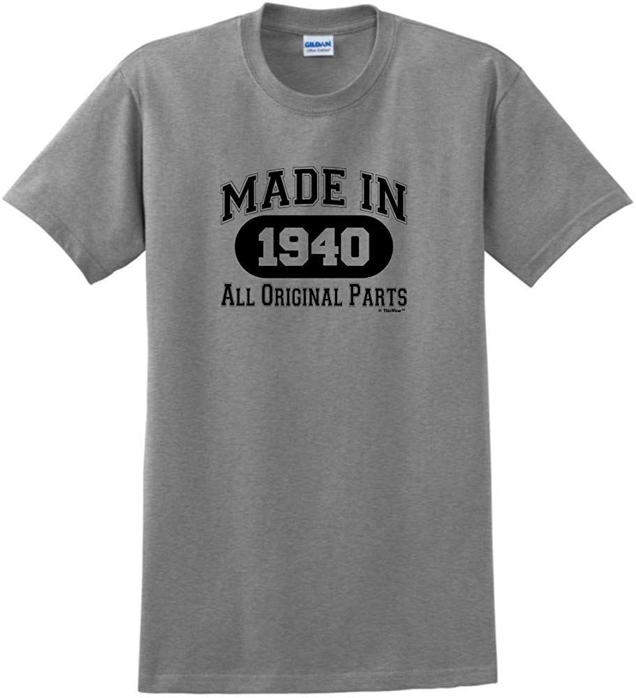 80th birthday gift made 1940 all original