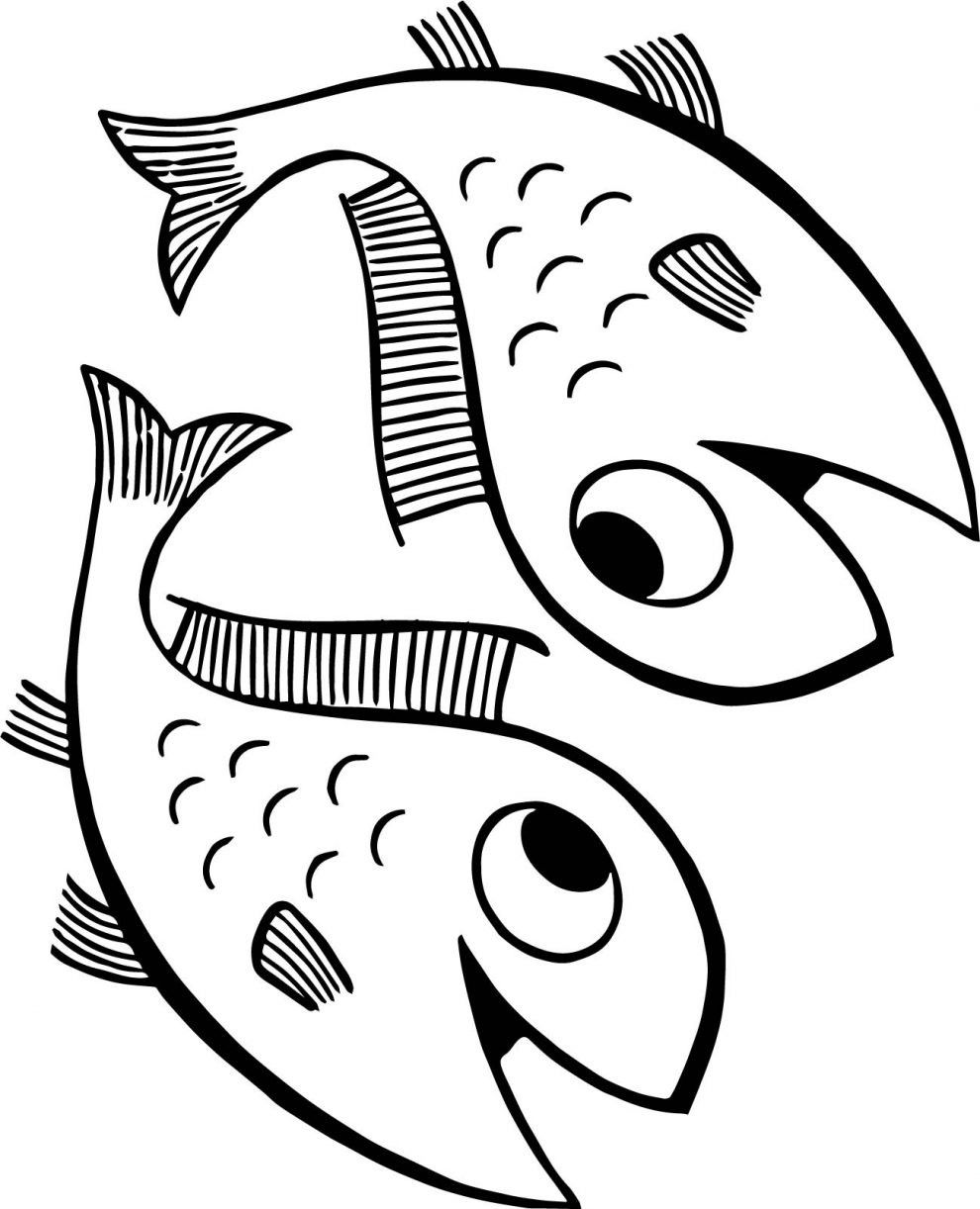 Pin by Elizabeth Hanchey on Summer :) | Fish coloring page ... |Summer Coloring Sheets Fish