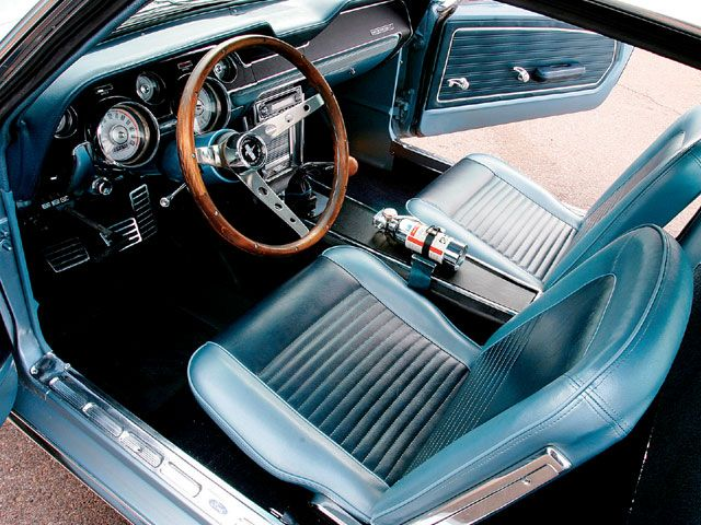 1967 Ford Mustang Fastback Interior Mustang Fastback Ford