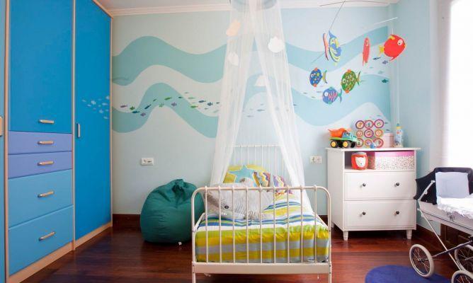 Decoraci n cuarto de beb varon en goma eva imagui for Decoracion habitacion bebe goma eva