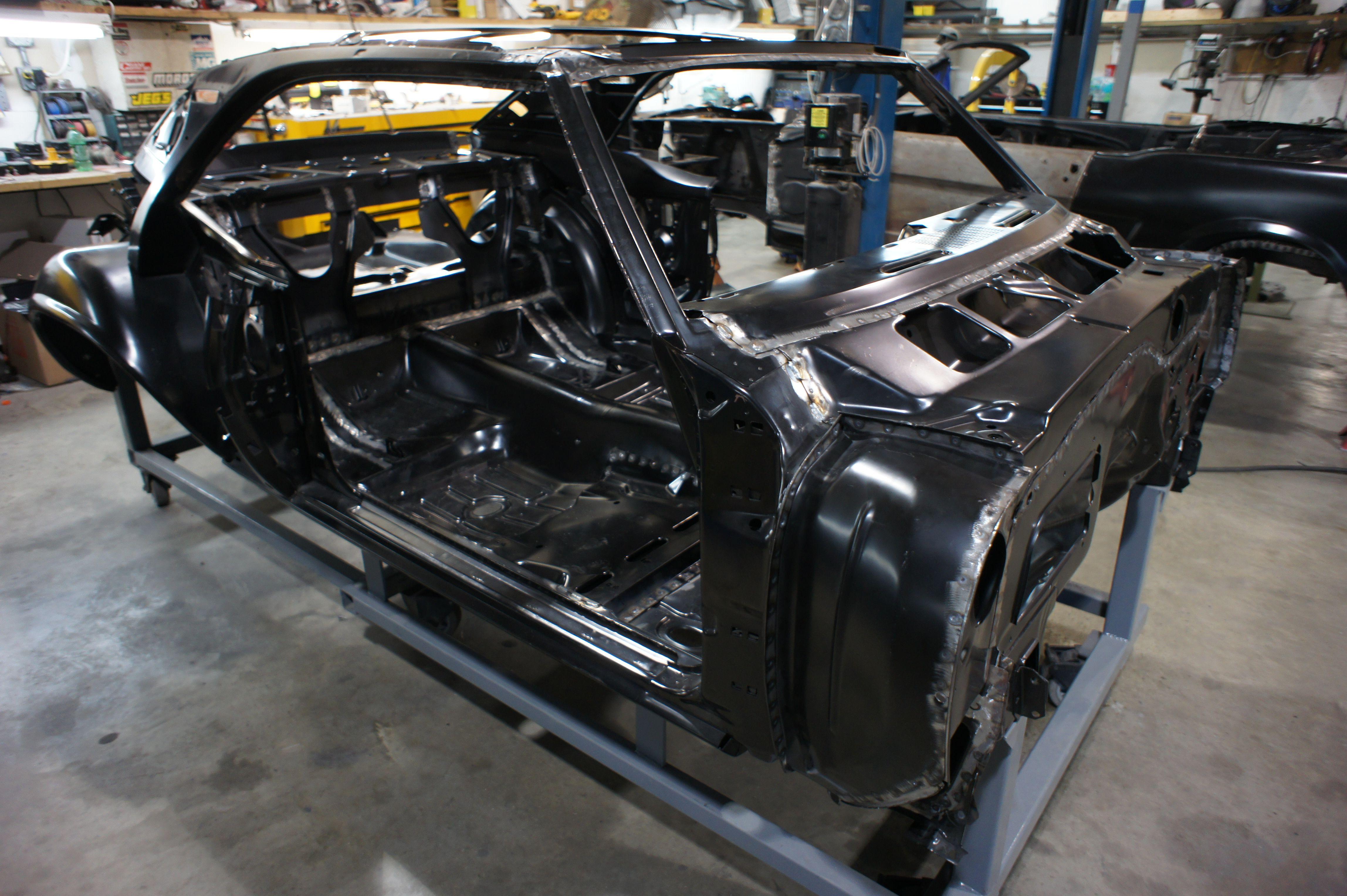 1969 Camaro Bodybuild resurrectionmusclecars RMC