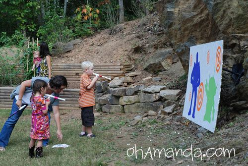 Games To Play At Toy Story Birthday Party : Toy story game shoot toy character targets w marshmallow gun