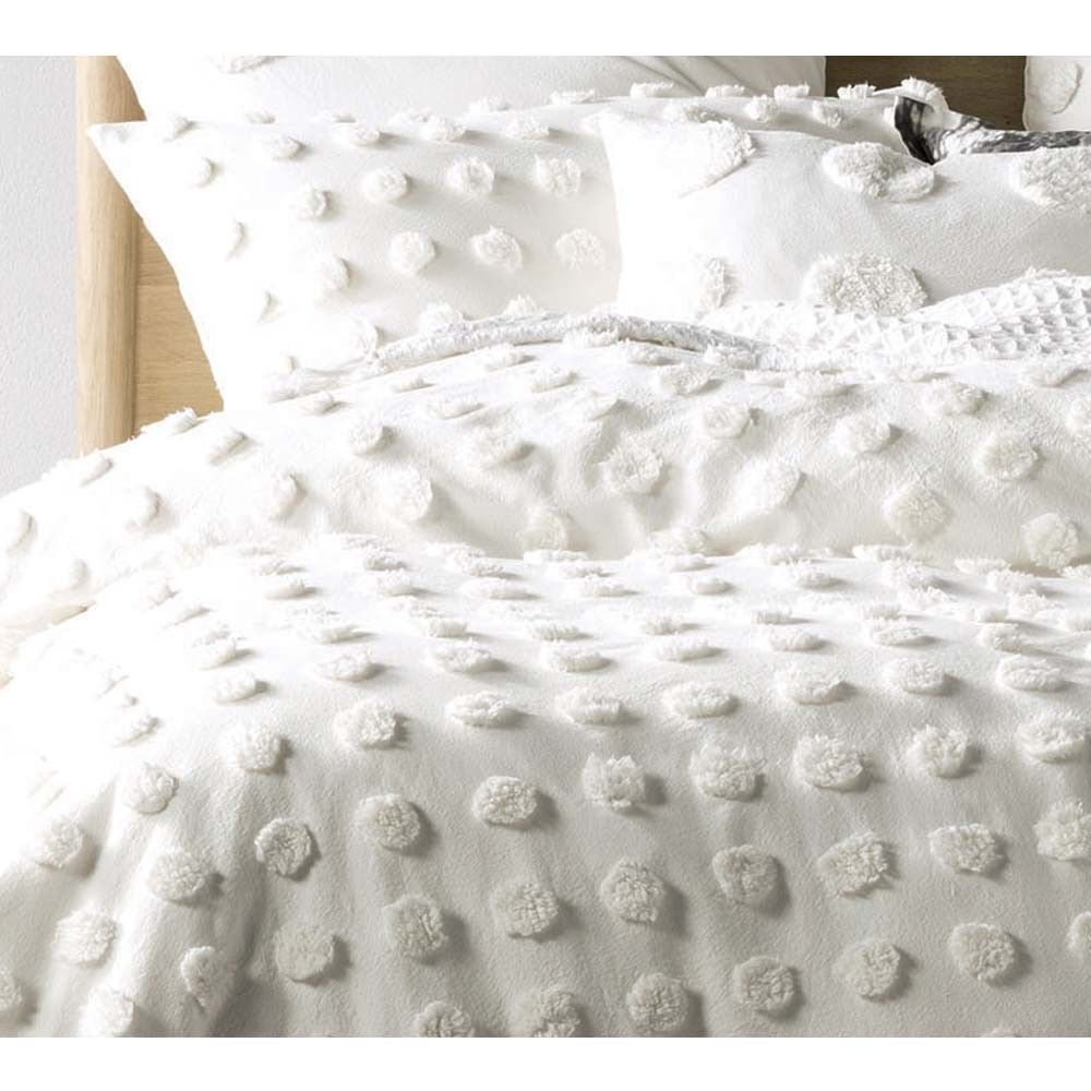 Pom Poms on Parade Bed Linen Set in Ivory (With images