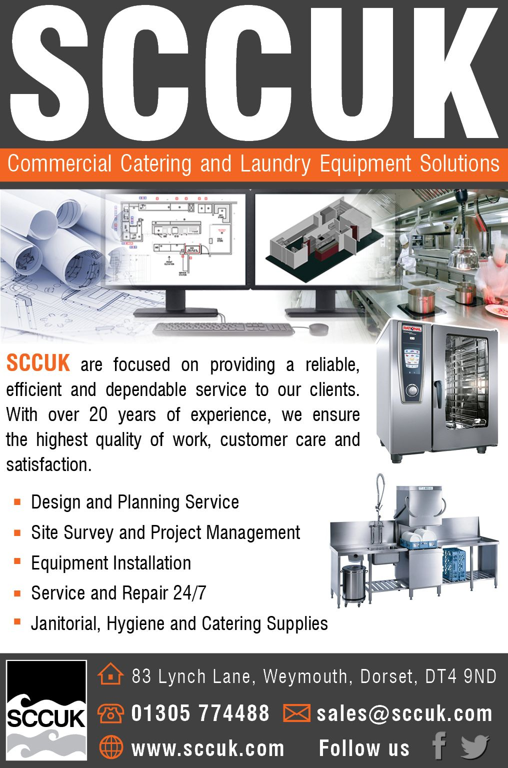 SCCUK Commercial Catering and Laundry Equipment Solutions