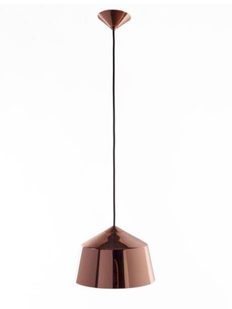 Rose Gold Dome Pendant Light