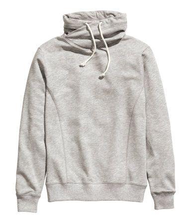 H&M Sweatshirt with Funnel Neck $24.95   Get in my closet ...
